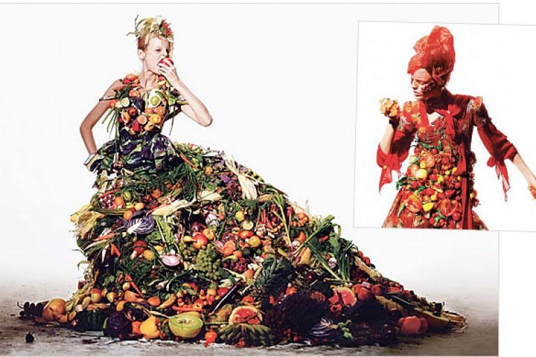wearing fruits