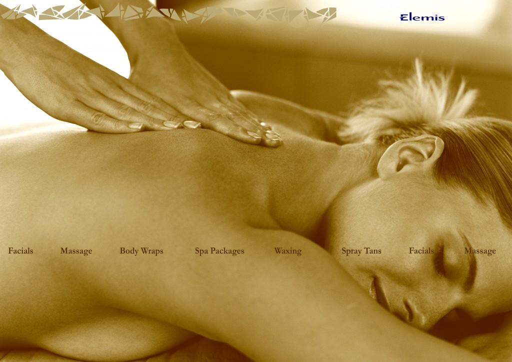 eGoli Day Spa Massage window design