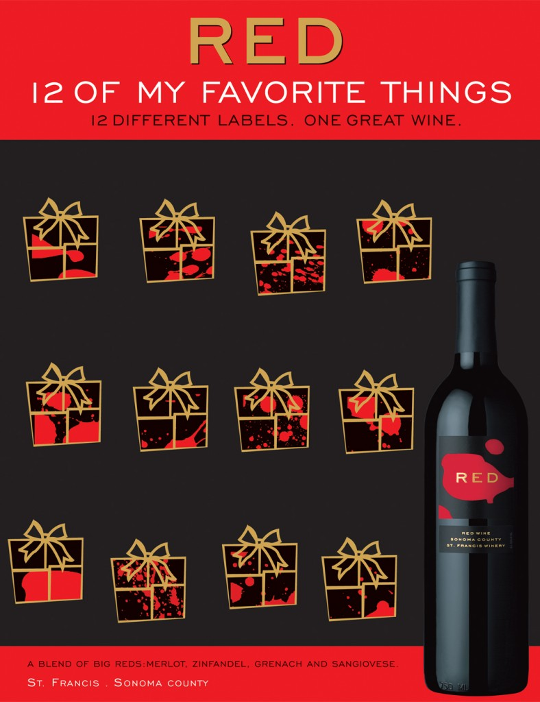 Kobrand_Red_FavoriteThings_Poster