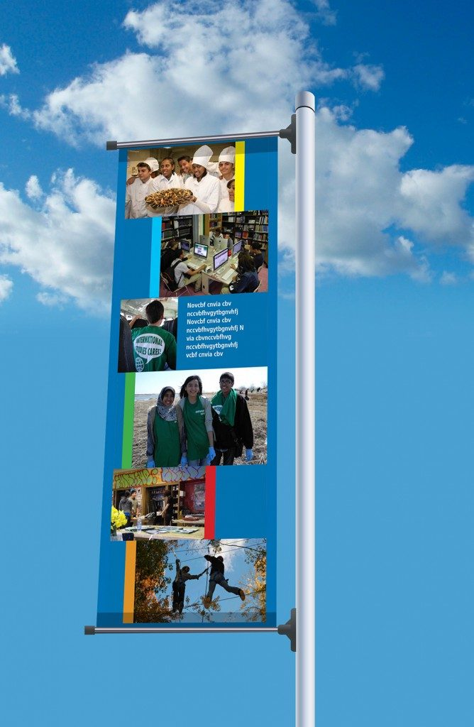 Boerum Hill School for International Studies - Banners