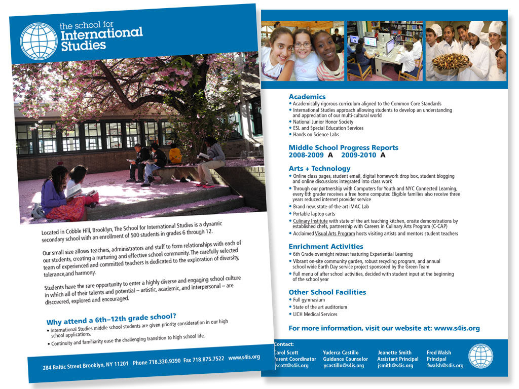Boerum Hill School for International Studies - Brochure