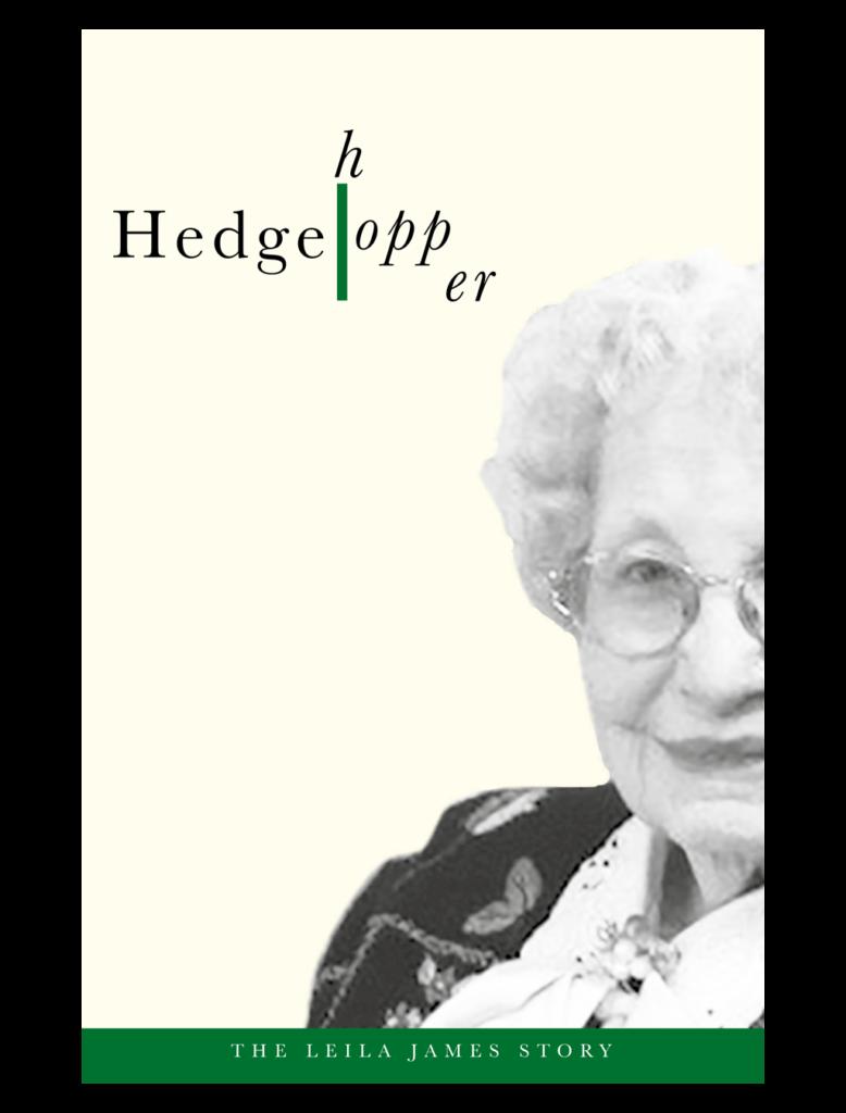 Book cover design concept Hedgehopper